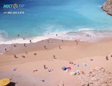 Promo video for travel agency