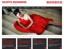 Website for Julietta Kocharova