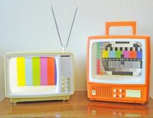 Restyled Vintage TVs